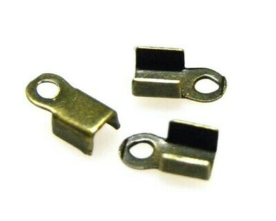 Ferma Corda 10x4 mm Bronzo