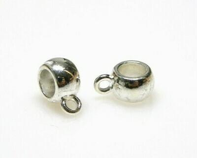 Appendino Liscio 6-8 mm Silver
