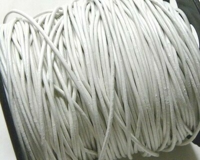 Pelle 1,5 mm Bianco 2 mt