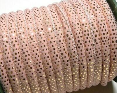 Tubolare Cotone Rosa Oro 1 mt