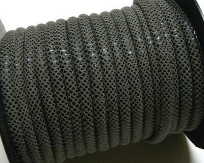 Tubolare Cotone grigio scuro 1 mt