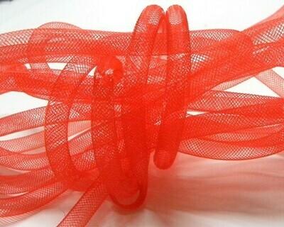 Rete Nylon Rosso chiaro 4-8mm - 5 mt