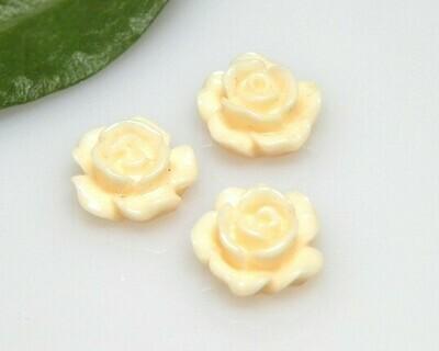 Rosa piatta Pesca 10x4,5 mm