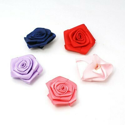 Rose in stoffa mix color