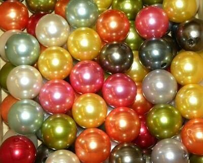 Perle in plastica smaltata 20mm