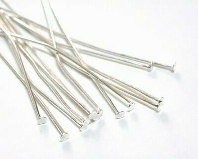 Chiodini Testa Piatta Silver 2,8-4 cm