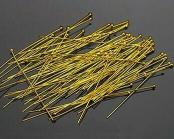 Chiodini Pallina oro 3,5- 5 cm