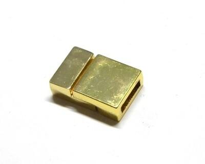 Calamita da incollo piatta Argento, Oro, Rame
