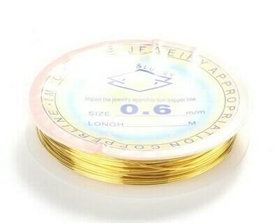 Filo di rame Oro 04, 06, 08 mm