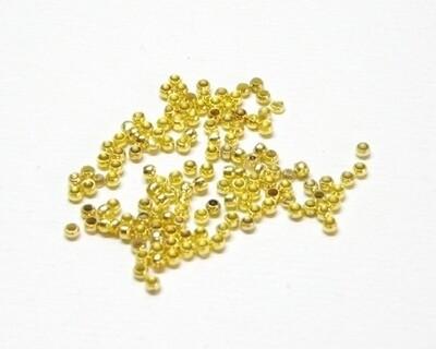 Schiaccini oro ferma cavo