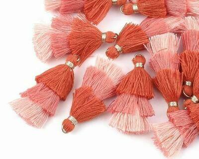 Nappine 3 colori Rosa Corallo