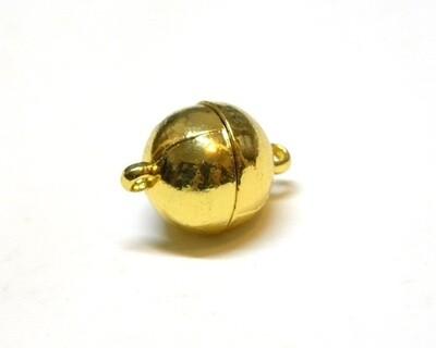 Calamita con anellini Oro 12 mm