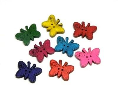 Bottoni farfalla 100 pezzi