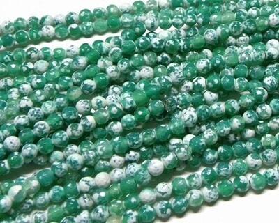 Pietre dure Agata Verde 6 mm