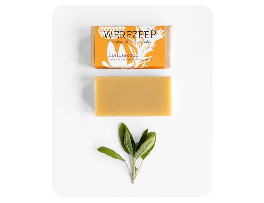 Werfzeep honingzeep - 100 gr - Honing