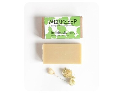 Werfzeep Vegan Kruiden Shampoo - 100 gr