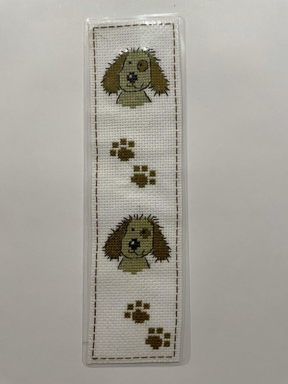 Handmade Pup Bookmark By Mel - 001
