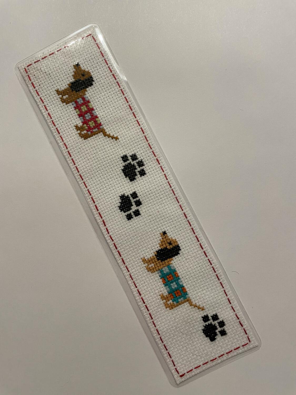 Handmade Pup Bookmark By Mel - 010