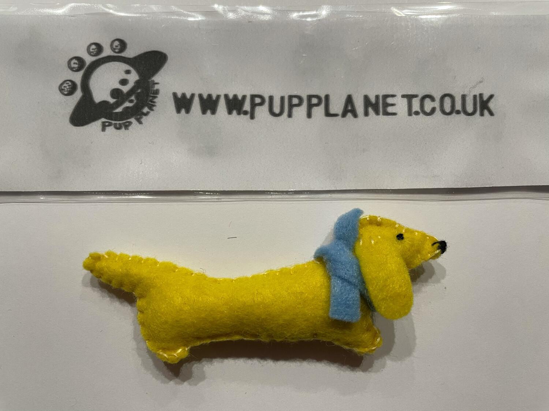 Handmade Pup Brooch By Mel - 002