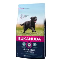EUKANUBA Active Adult Large Breed Rich in Fresh Chicken - 12kg