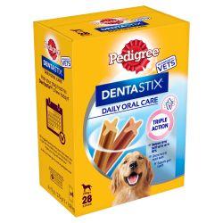 Pedigree Dentastix Daily Adult Large Dog Treats Dental Chews 28 Sticks