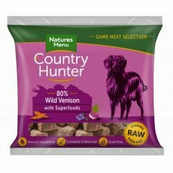 Country Hunter Nuggets Wild Venison with Superfoods
