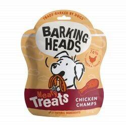 Barking Heads Meaty Treats Chicken Champs