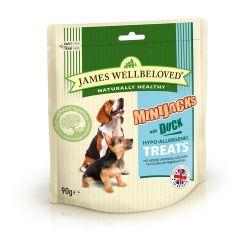 James Wellbeloved Dog Treats Minijacks Duck & Rice