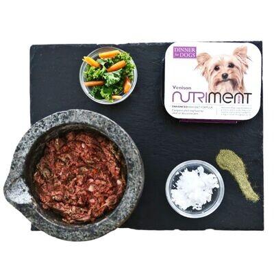 Nutriment Dog Adult Venison Dinner - Small Dog 200G