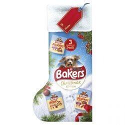 BAKERS Dog Treats Christmas Stocking 292G