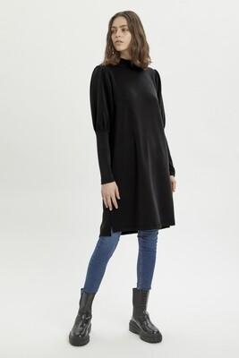 MWElle Puff Dress Black
