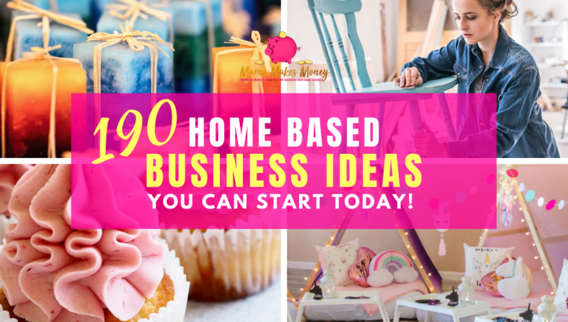 190 Home Based Business Ideas TEST!