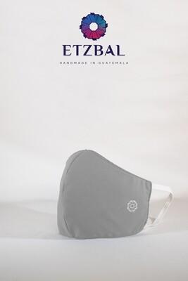 Fabric Face Masks Kit - Light Gray