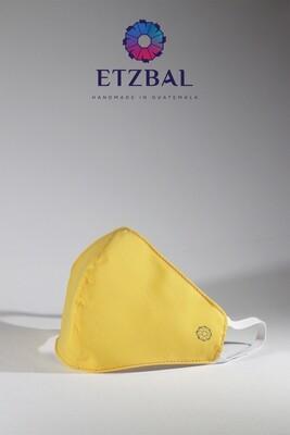 Fabric Face Masks Kit - Yellow