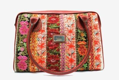 Leather  Handbag Textile Maya
