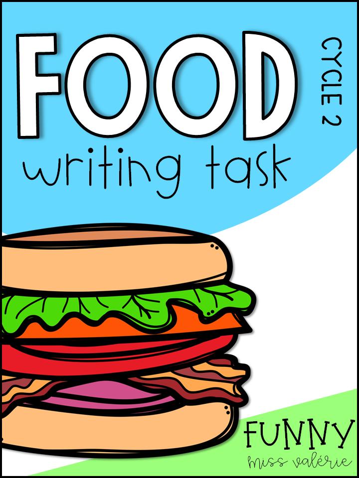 FOOD Writing Task