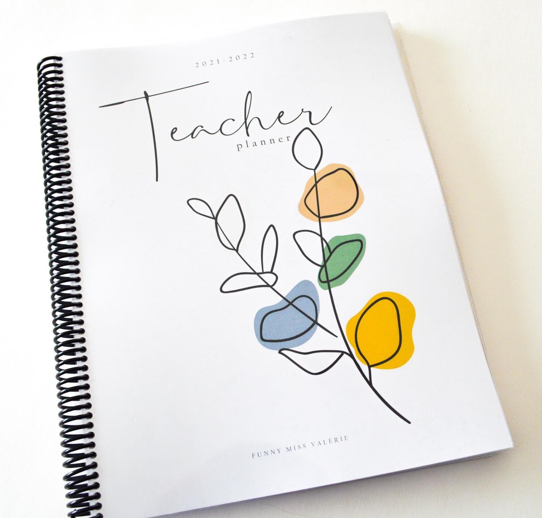 Teacher Planner 2021-2022