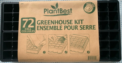 72 cell greenhouse starter kit