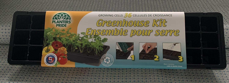 36 cell greenhouse starter kit
