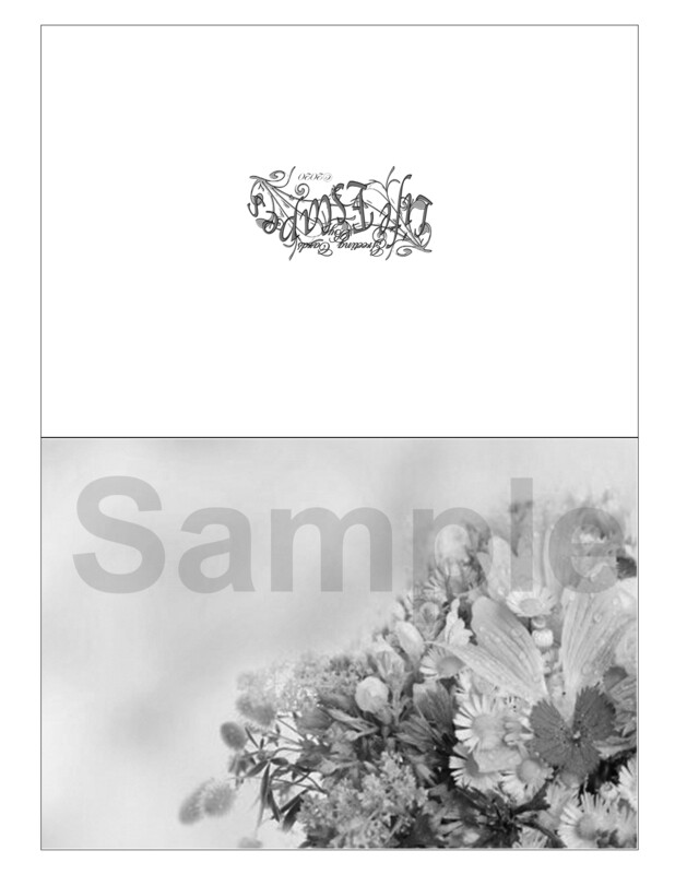Any Time Coloring Greeting Card #G1 Digital Printout