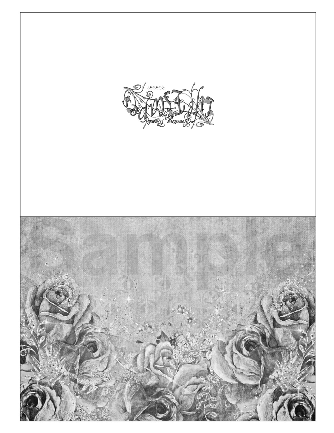 Any Time Coloring Greeting Card #G9 Digital Printout