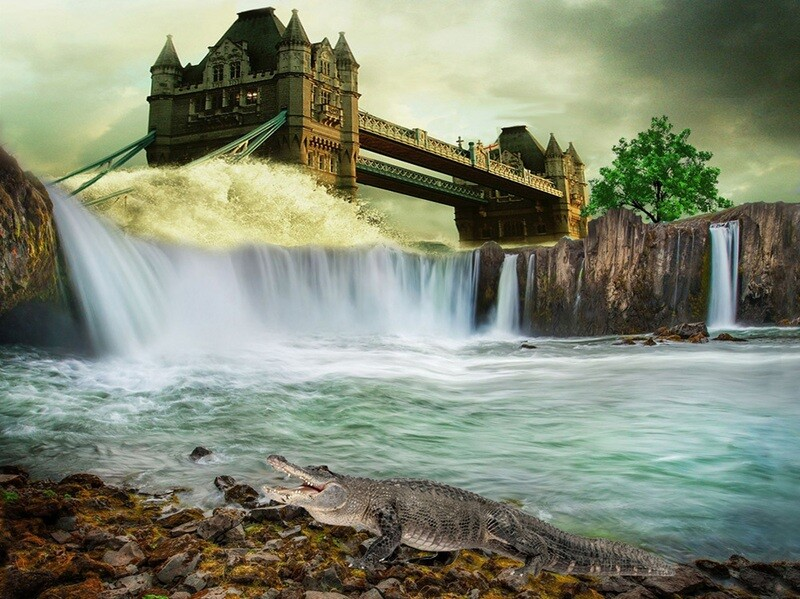 Video Tutorial: Waterfall Fantasy - 1 part - mp4 download