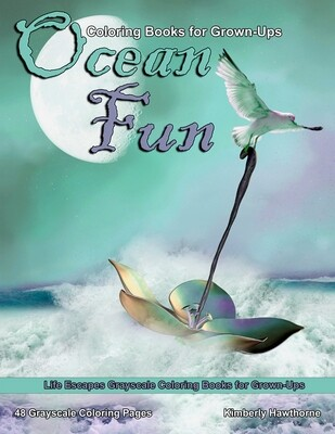 Ocean Fun Coloring eBook for Grown-Ups PDF