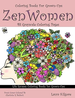 Zen Women Coloring Book for Grown-Ups PDF