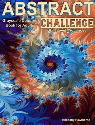 Abstract Challenge Coloring Book for Adults Digital Download