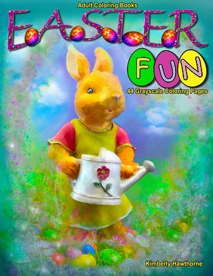 Easter Fun Coloring Book for Adults Digital Download