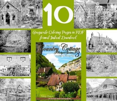 Country Cottage Backyard Gardens 3 Sampler Pack Digital Download