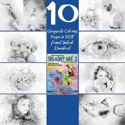 Splashy Art 2 Sampler Pack Digital Download