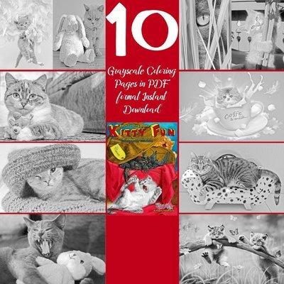 Kitty Fun Sampler Pack Digital Download