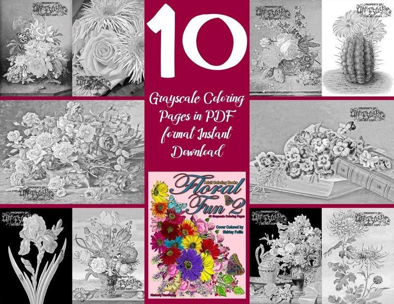 Floral Fun 2 Sampler Pack Digital Download